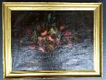 Willem van Aelst 1627-1683 rari cesti di fiori Coppia-4
