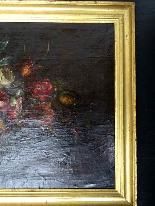 Willem van Aelst 1627-1683 Rare Pair of Flower Baskets-12