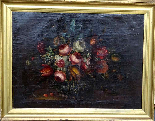Willem van Aelst 1627-1683 Rare Pair of Flower Baskets-0