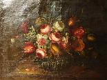 Willem van Aelst 1627-1683 Rare Pair of Flower Baskets-10