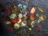 Willem van Aelst 1627-1683 rari cesti di fiori Coppia-9