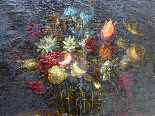 Willem van Aelst 1627-1683 rari cesti di fiori Coppia-2
