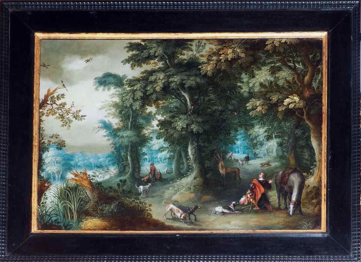 Александр Keirinck (1600/1660) Пейзаж - Экспертиза
