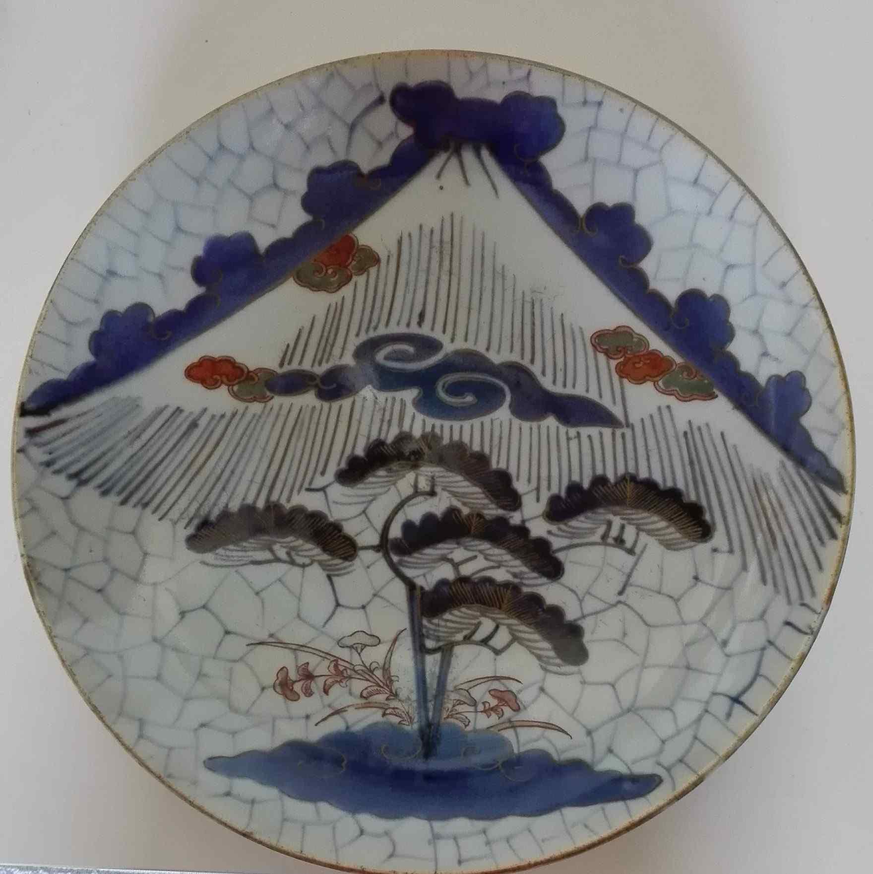 Фарфор Япония Meigs девятнадцатого века