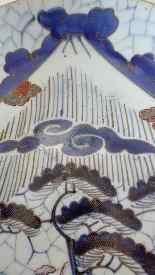 Фарфор Япония Meigs девятнадцатого века-1