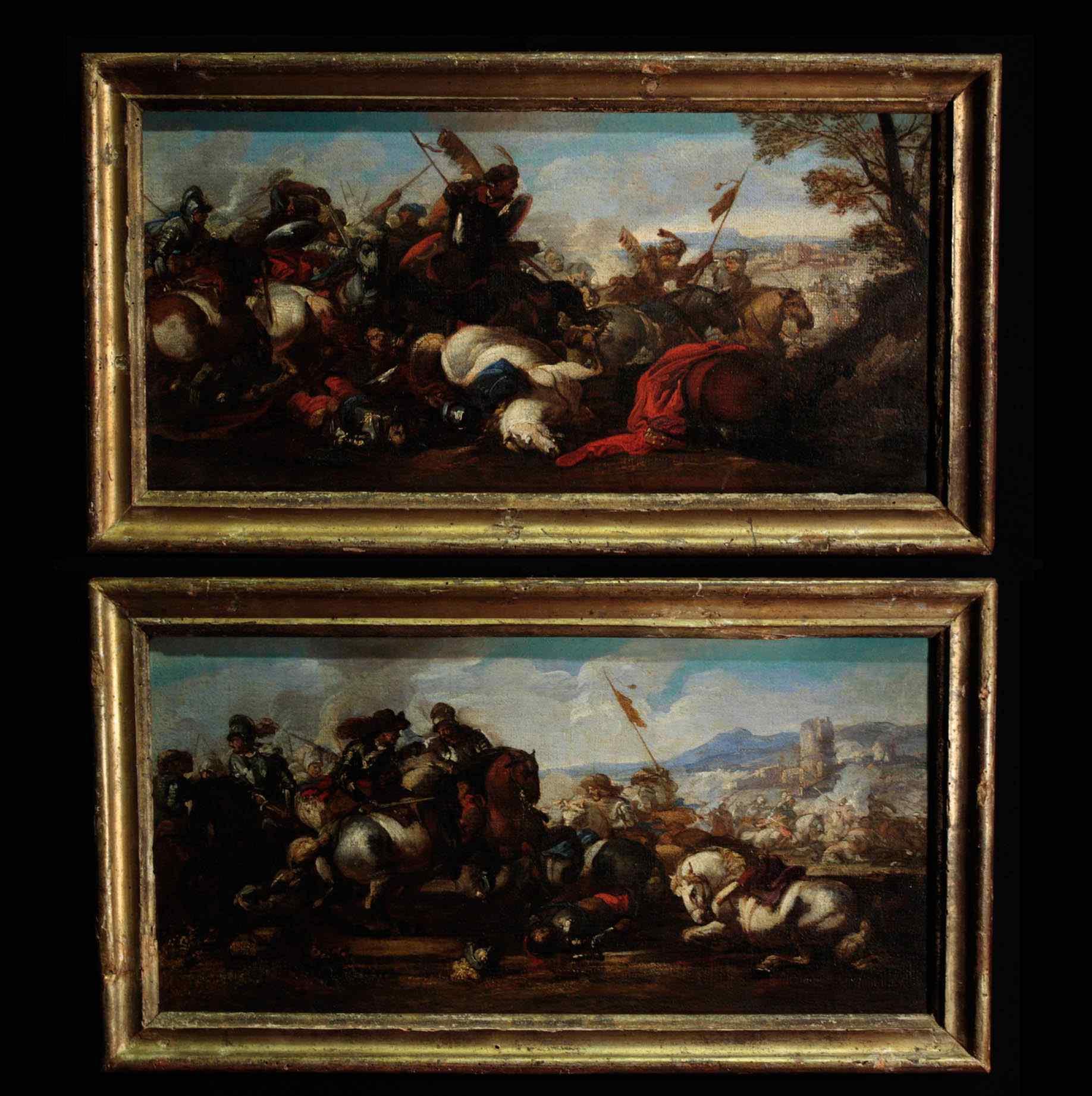 Бургундский Жак Куртуа (1621-1676) - бить Пара