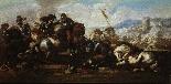 Бургундский Жак Куртуа (1621-1676) - бить Пара-1