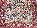 tappeto Kirman lana Kork - Intorno al 1920 l'Iran-3