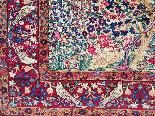 tappeto Kirman lana Kork - Intorno al 1920 l'Iran-5