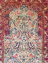 tappeto Kirman lana Kork - Intorno al 1920 l'Iran-6