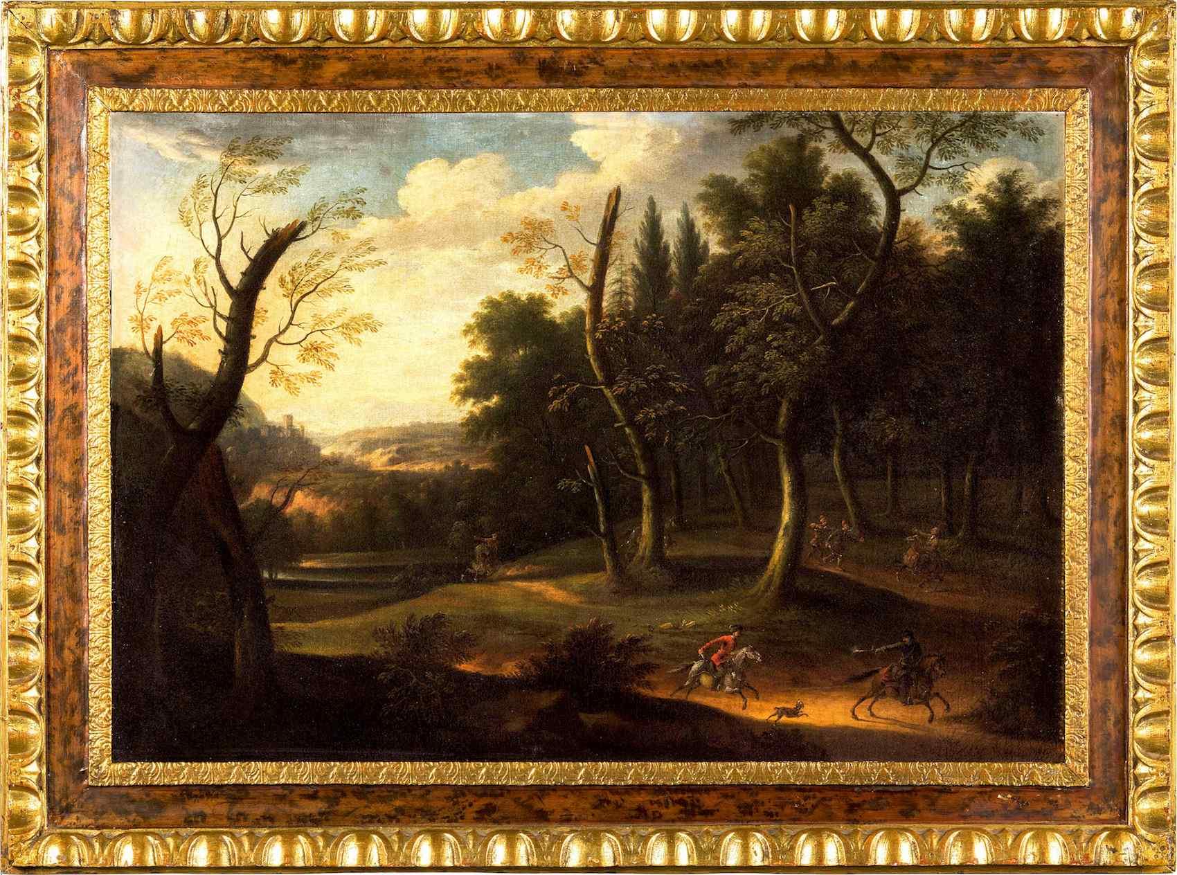 L'embuscade dans les bois, Barthélemy Torregiani (1590-1675)