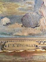 Vue de l'arche de Constantine de Pierre André Brouillet-4