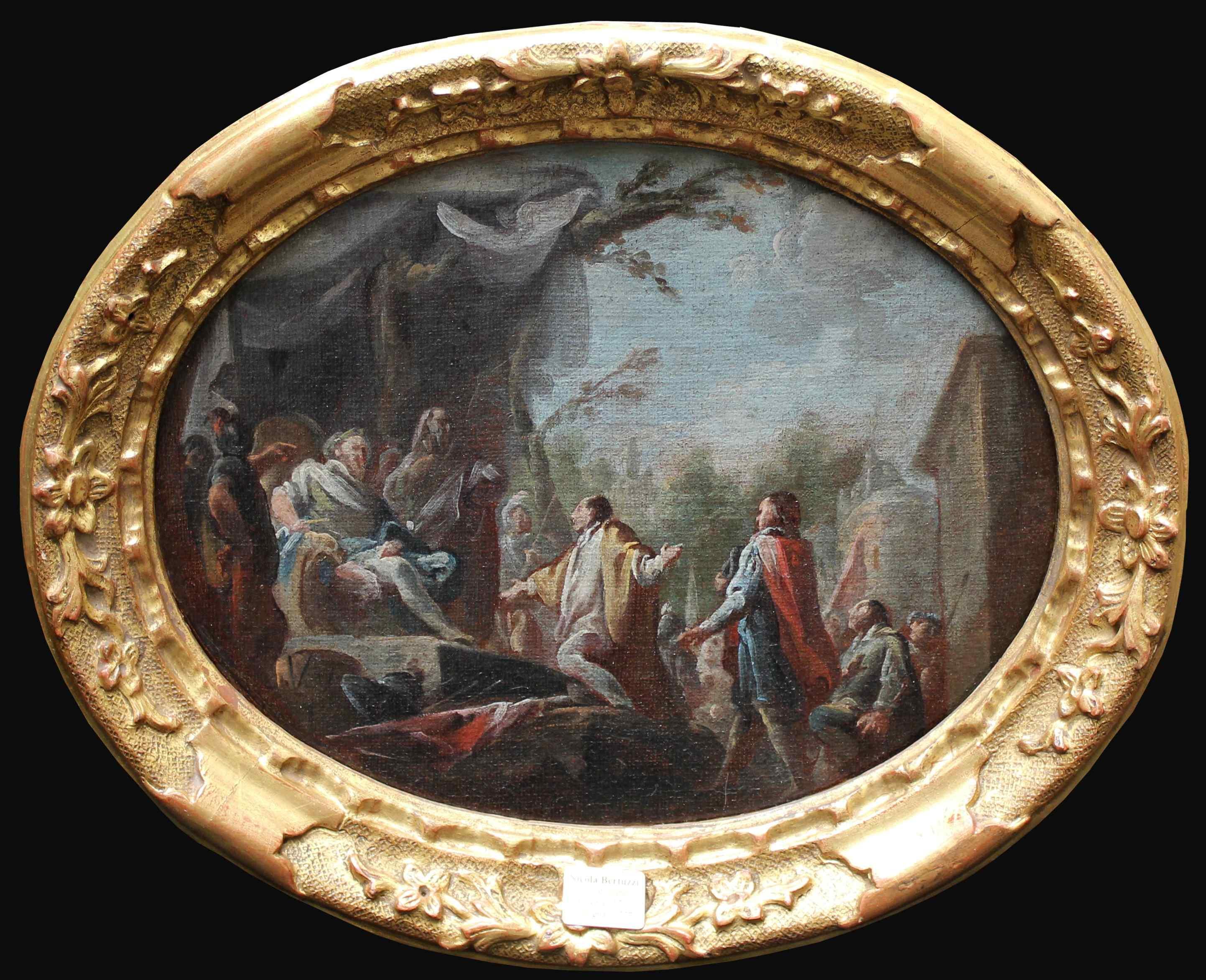Nicola Bertuzzi, le Anconetano (1710-1777), Scène historique