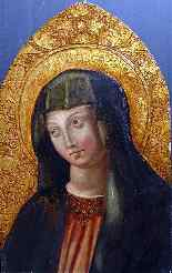 Panel of Altarpiece to the Virgin Italy Early 17th-4