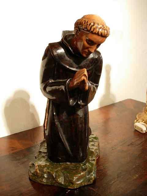 Sculpture of San Francesco Sec. XX