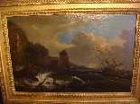 French School Eighteenth Century, Follower of VERNET, Wreck-6