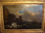 French School Eighteenth Century, Follower of VERNET, Wreck-3