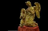 Пара больших древних ангелов семнадцатого века-2