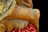 Пара больших древних ангелов семнадцатого века-9