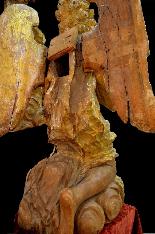 Пара больших древних ангелов семнадцатого века-5