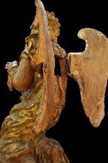 Пара больших древних ангелов семнадцатого века-8
