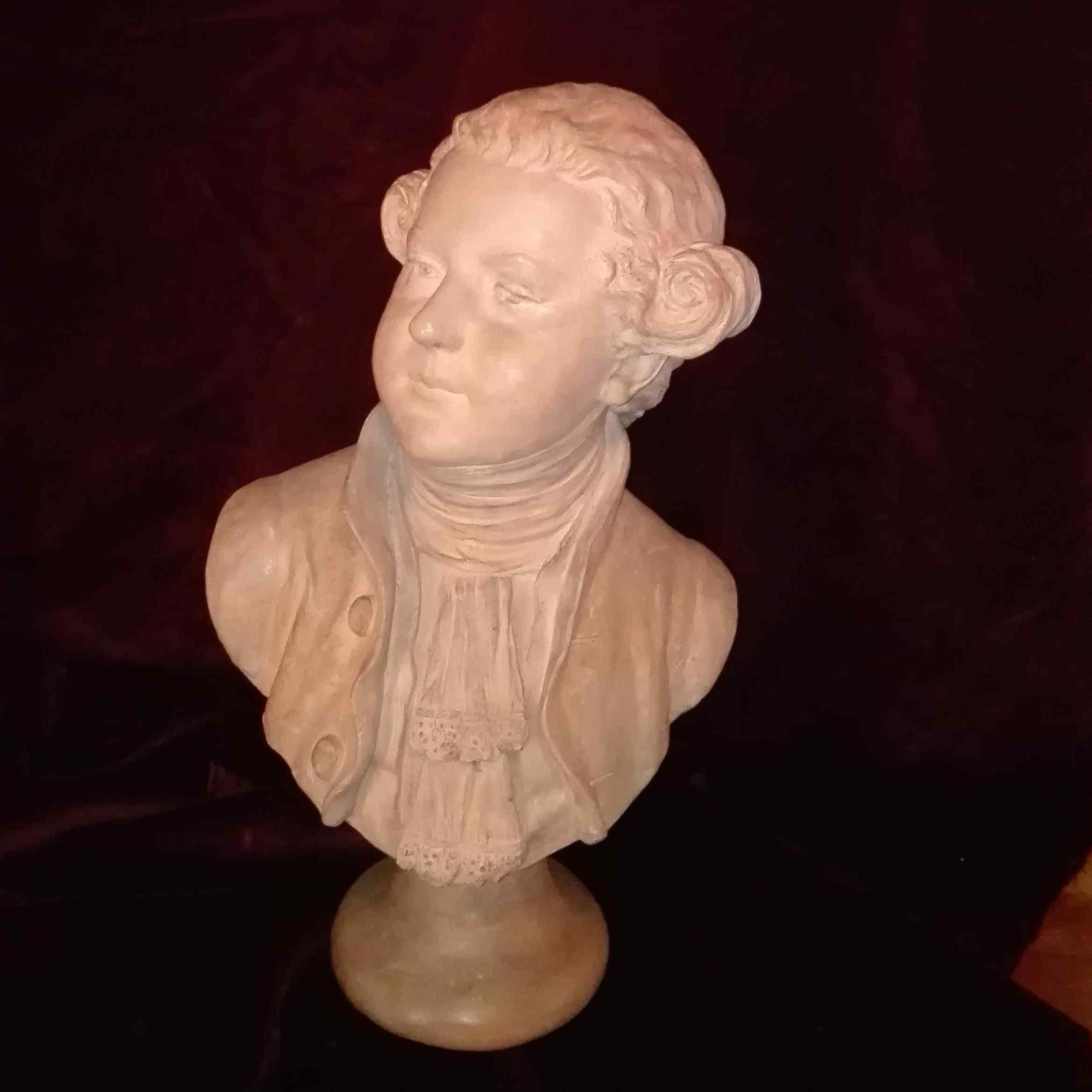 Bust BOSON JACQUES OF TALLEYRAND-PERIGORD 1784-1830