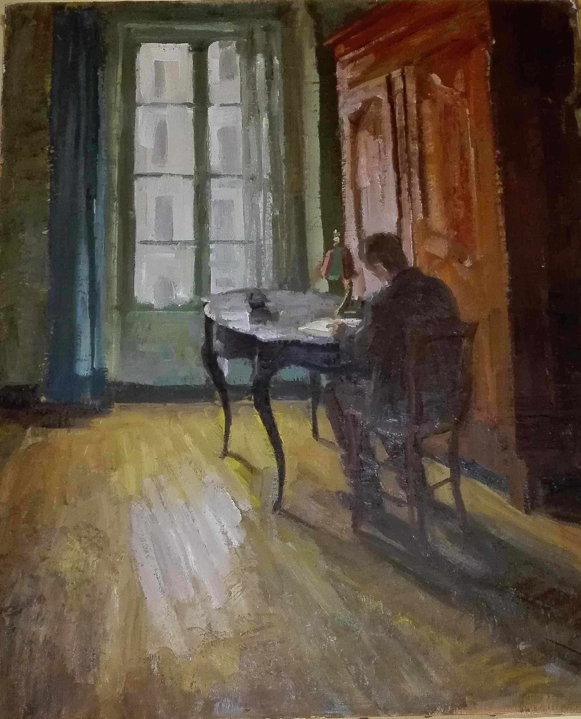 Louis Peyré 1923-2012 rue Lacépède in Paris