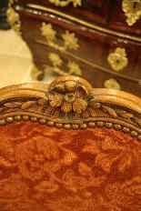 Пара кресел кабриолета периода Луи XV-9