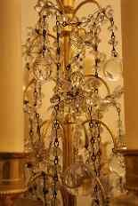 Pair of girandoles bronze and crystal nineteenth century-9