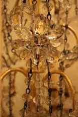 Pair of girandoles bronze and crystal nineteenth century-8