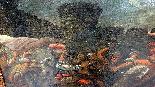 Quadro Carlo Coppola del 600 Sec. XVII - Battaglia -1