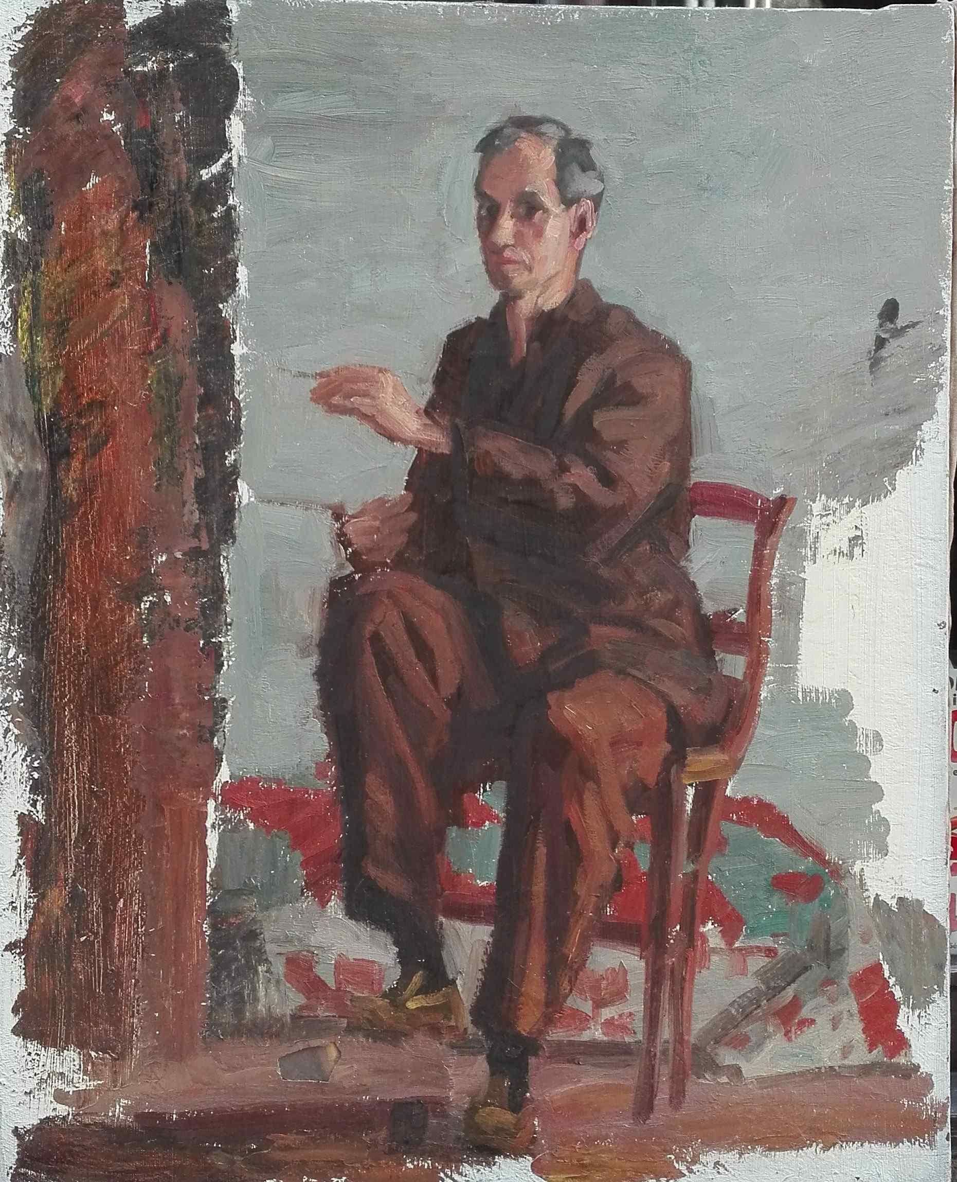 Louis Peyre Autoritratto del Piittore