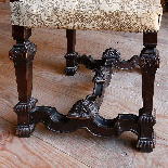A Set of Upholstered Chairs 19th century-3
