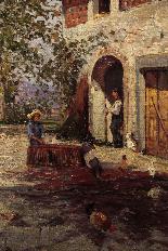 Rontini Ferruccio(Firenze 1893-Livorno 1964)Vita di campagna-2