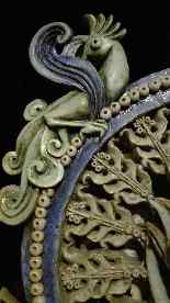 CERAMICA RARE ROGER GASTON - una divinità - XX secolo-4