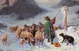 John Califano (Rome, 1864-Chicago, 1924), Mountainous landsc-2