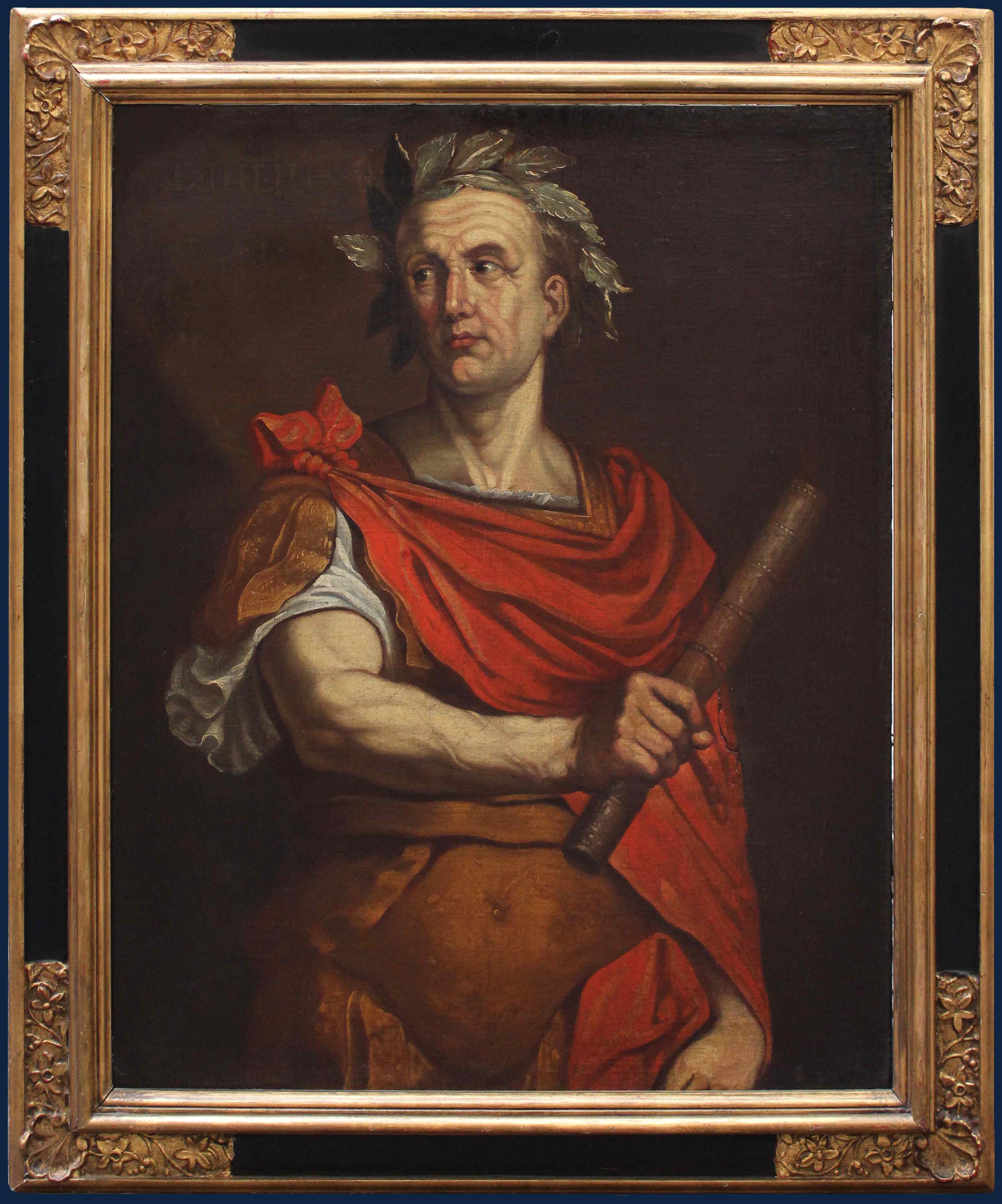 Giulio Cesare , XVII secolo , Olio su tela