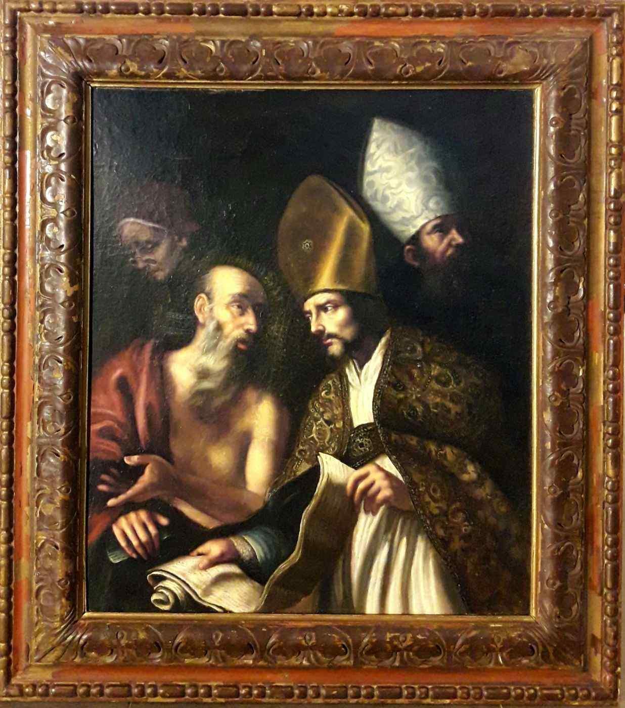 I quattro padri della Chiesa, manierismo spagnolo