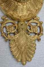 Paire d'Appliques En Bronze, Epoque Empire.-4