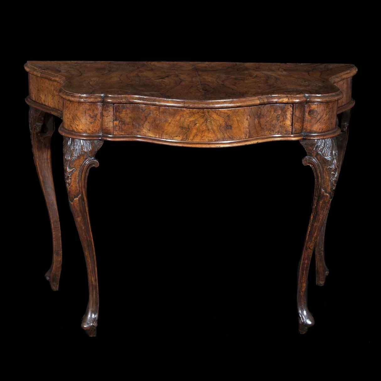 Antica console veneta, metà del XVIII secolo