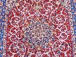 Tapis Ispahan Laine Kork - Epoque Du Shah - Iran Vers 1960-2