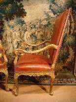 Coppia di sedie d'epoca Reggenza, XVIII secolo-11
