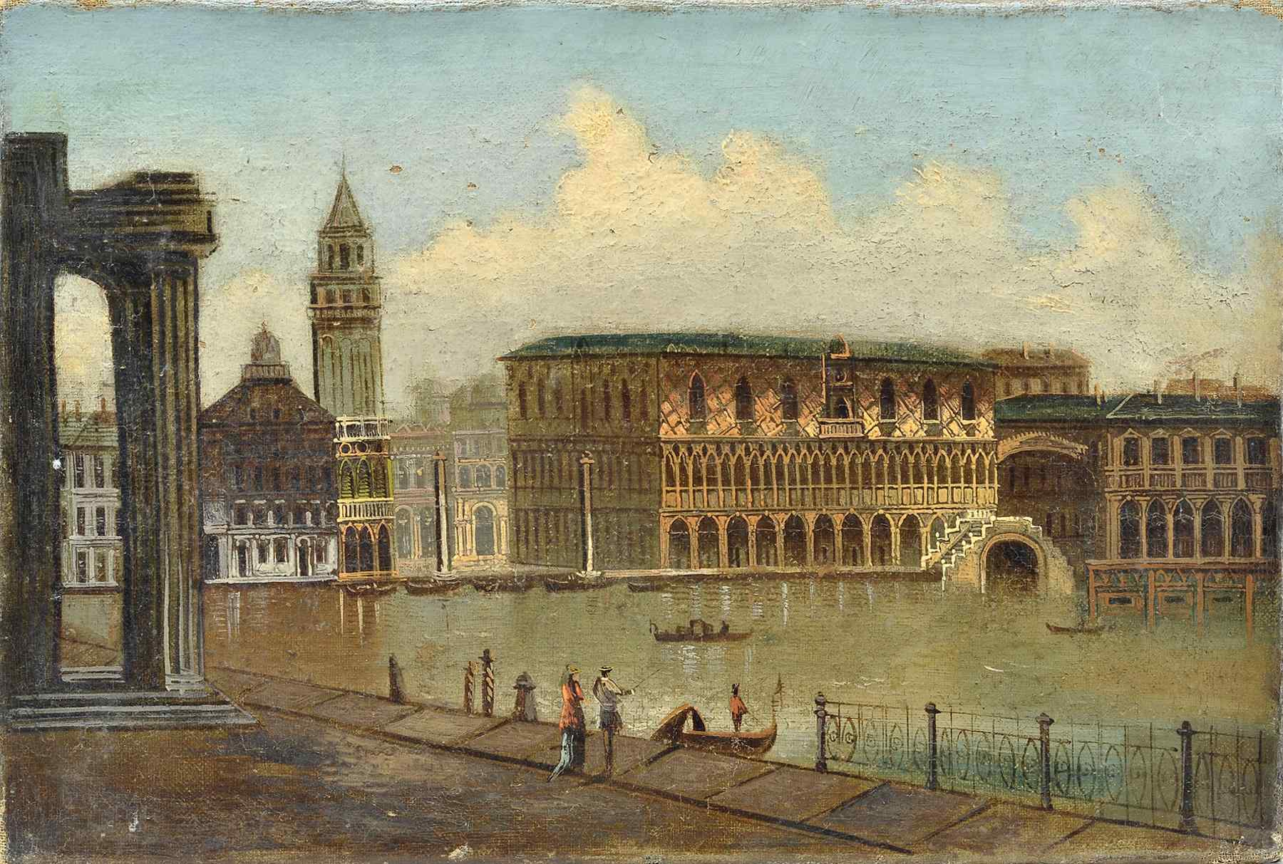 Quadro Scuola Italiana fine 700 Sec.XVIII