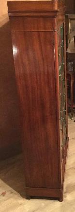 Cartonnier à 16 cartons en acajou XIXème-2