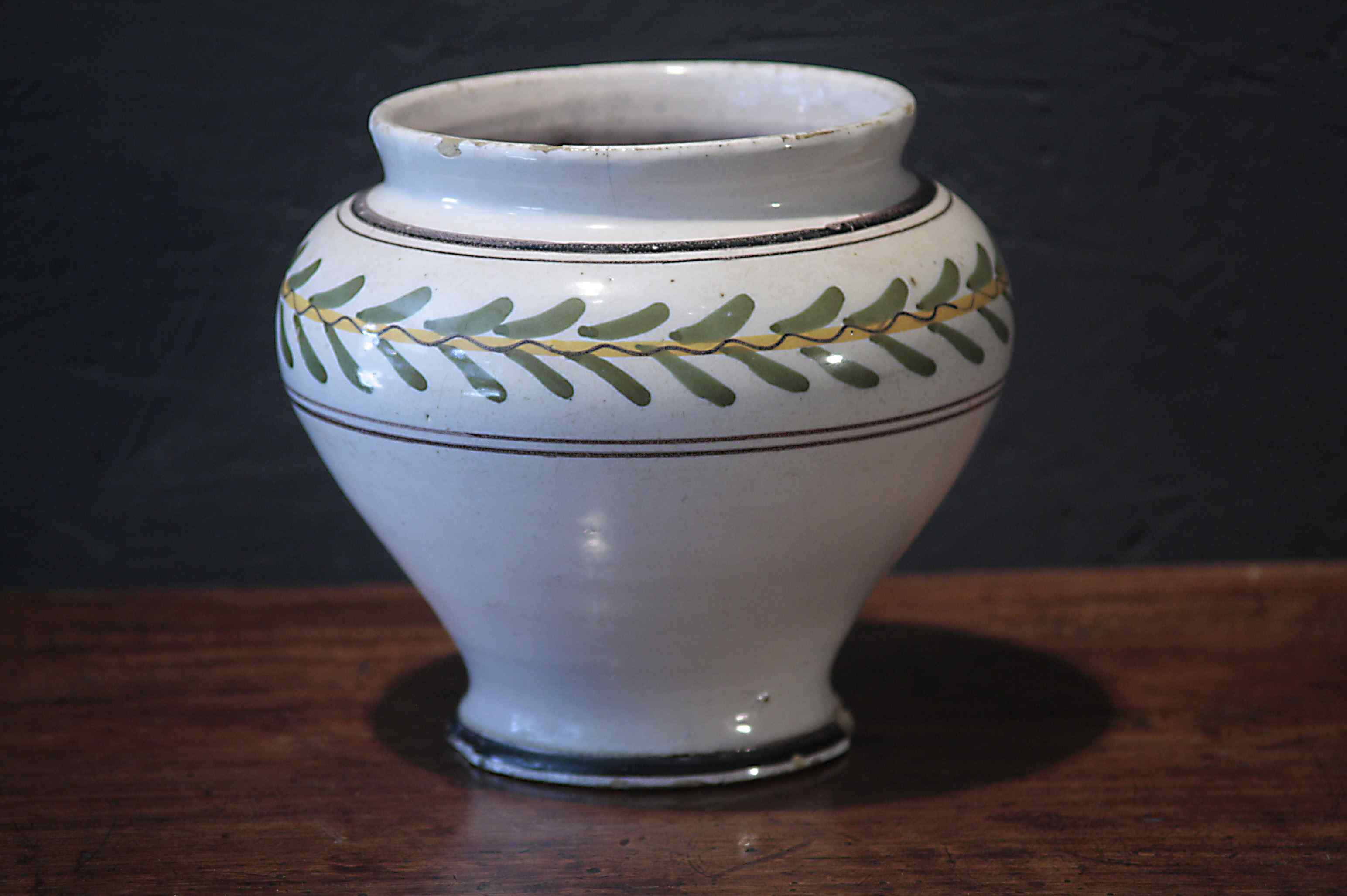 Majolique Vase, Sienne, Louis XVI