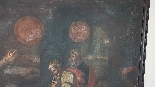 Grande dipinto antico cm 250 x 153 olio su tela Secolo XVII-6