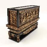 Scatola in legno laccato cinese, XIX secolo-1