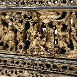 Scatola in legno laccato cinese, XIX secolo-3
