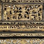 Scatola in legno laccato cinese, XIX secolo-5