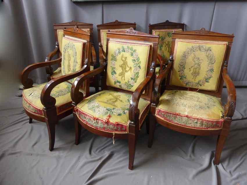 Antiche sedie Impero inizio 800